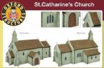 Oxford Structures OS76T001 St. Catharine's Church (Pre-Built)